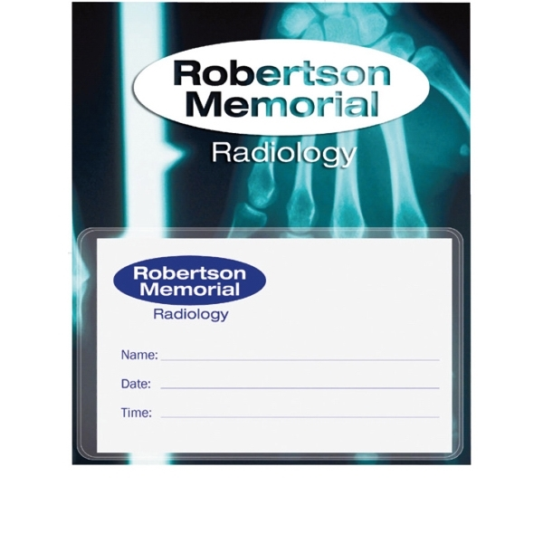 Business card magnet with