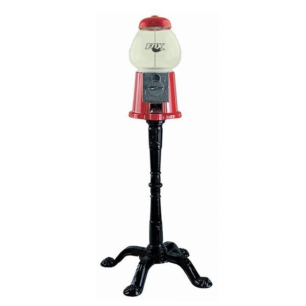 Red king gumball machine