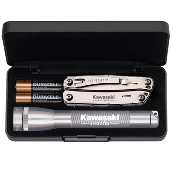 Mini flashlight with a