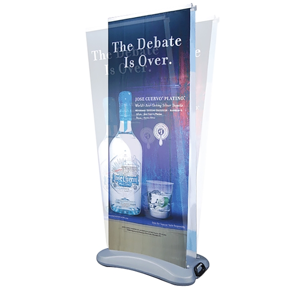 Outdoor Banner Stand.