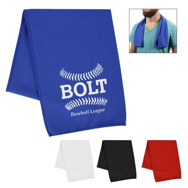 Cooling sport towel for
