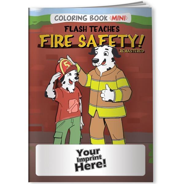 Flash Teaches Fire Safety