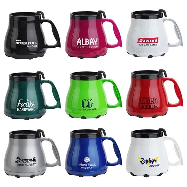 16 oz. insulated, double-wall,