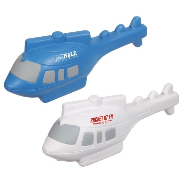 Helicopter shape stress reliever.