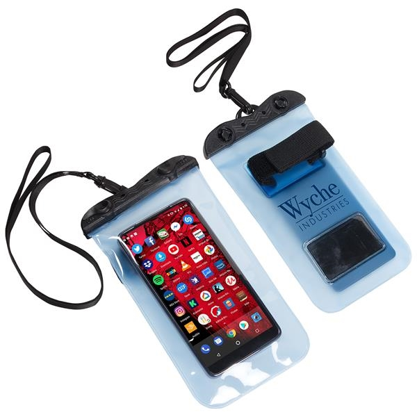 Waterproof phone pouch made