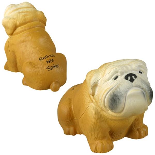 Bulldog shape stress reliever.