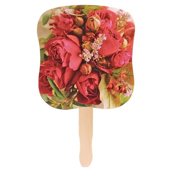 Stock Design Hand Fan-Flower
