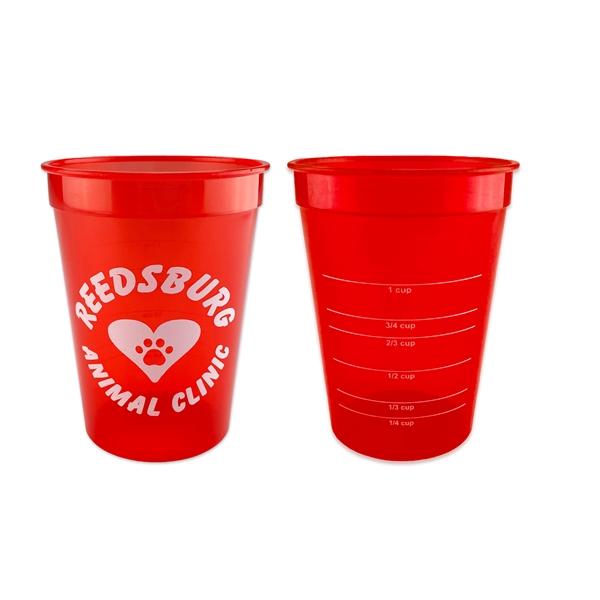 12 oz. measuring cup.