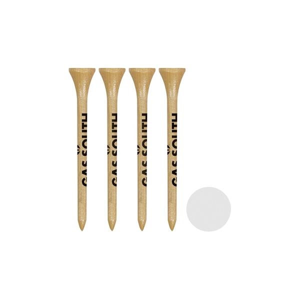 Packaged golf set with