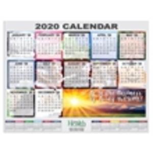 Promotional Stick-Up Calendars-CR-811