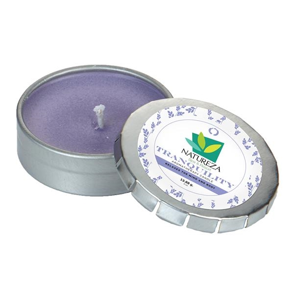Aromatherapy candle in small