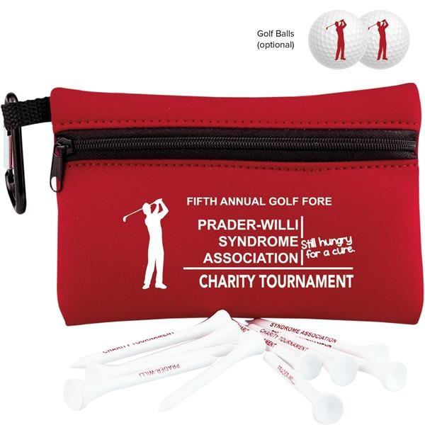 Neoprene golf ditty bag