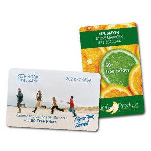 5 photo print cards