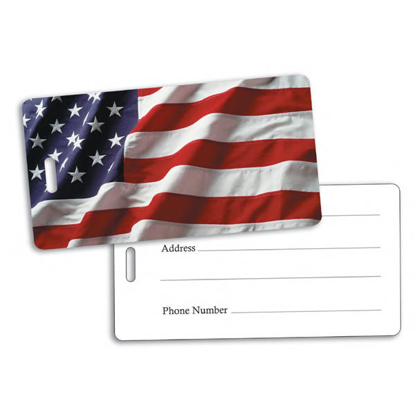 American flag golf bag