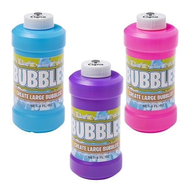 8 oz. Bubbles imprinted