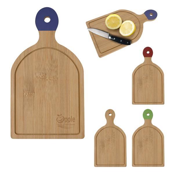 Lightweight bamboo cutting board