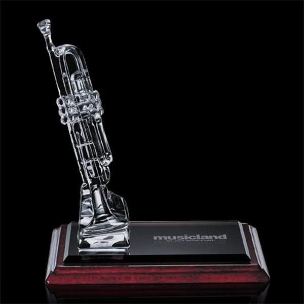 24% lead crystal award