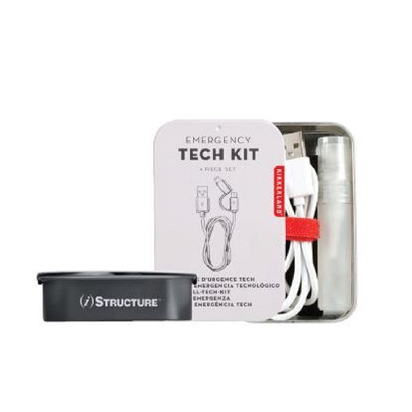 Kikkerland Emergency Tech Kit.