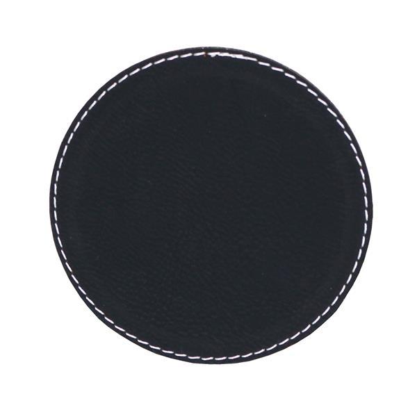 Suave - Round leatherette