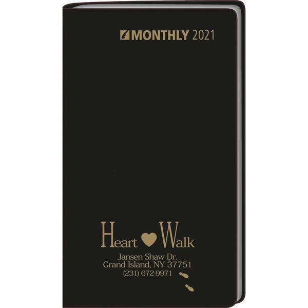 Monthly format pocket planner