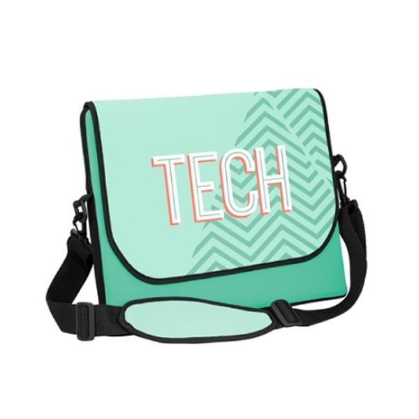 Camo messenger bag-style laptop