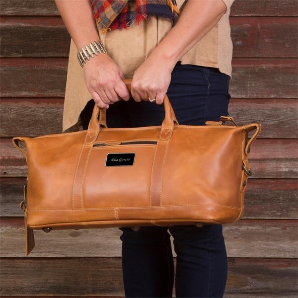 Canyon - Leather duffel