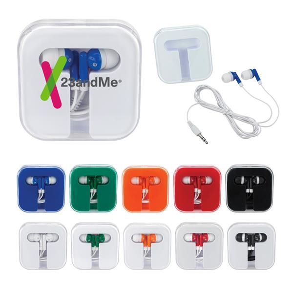 Ear Buds in Square