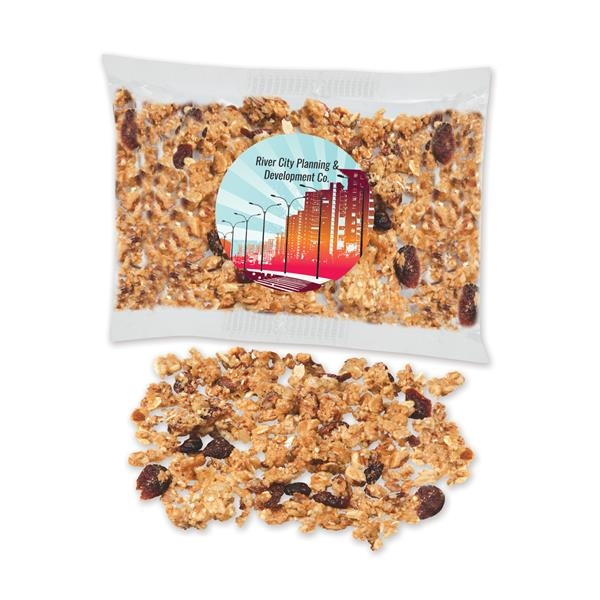 Individually labeled cranberry almond