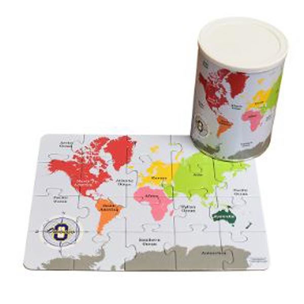 20-piece puzzle in a