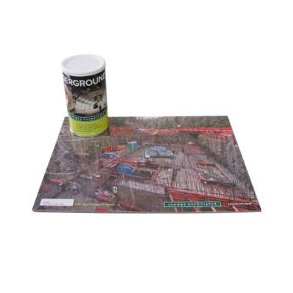 100-piece puzzle in a