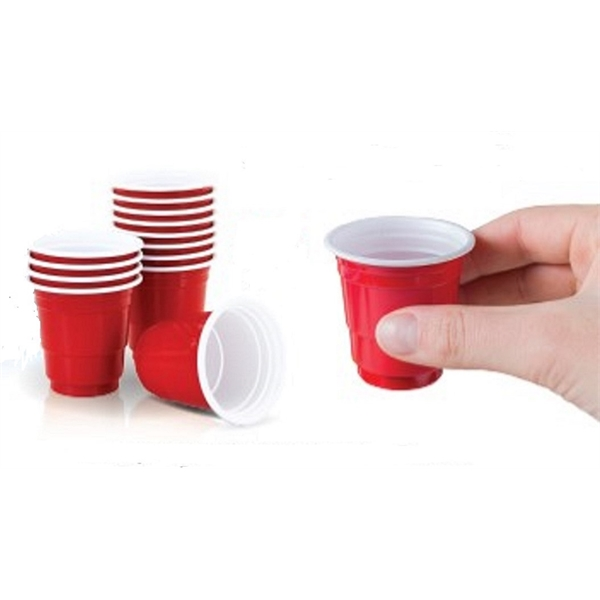Red cup shot glass,