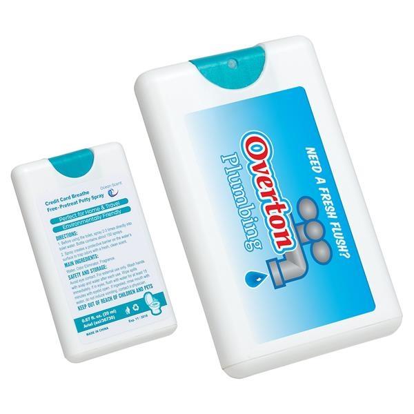 Ocean scented potty spray