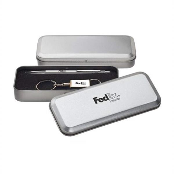 Pen / keychain satin