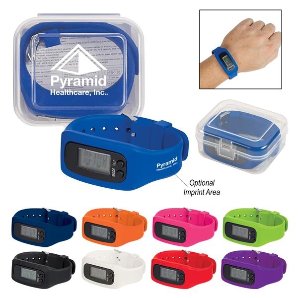 Pedometer and watch combo