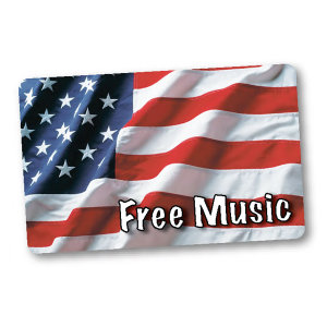 Promotional Music Download Cards-MUSIC-AF-A-01
