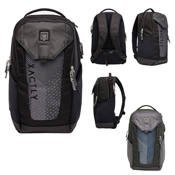 Backpack with integrated cord