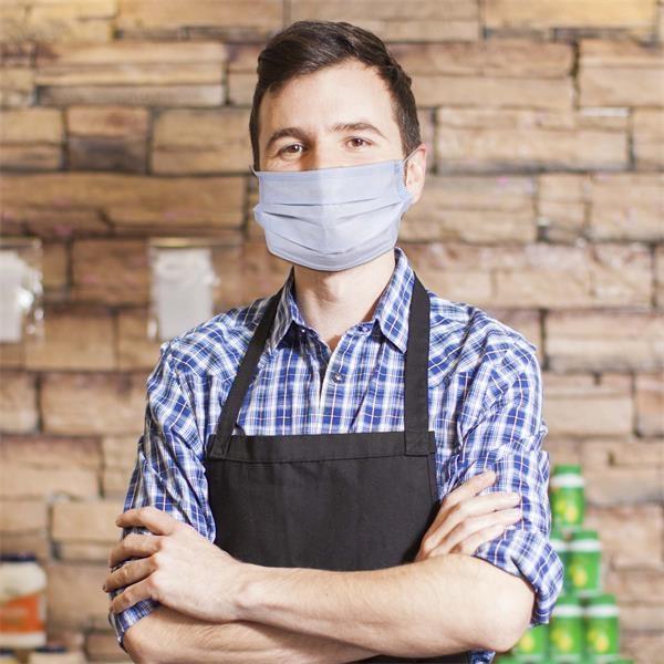 Disposable non-surgical face mask