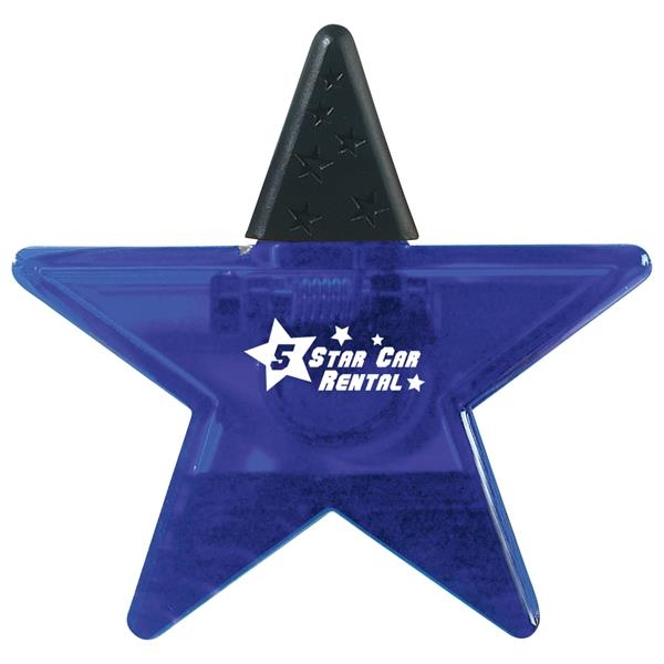 Star shape clip with