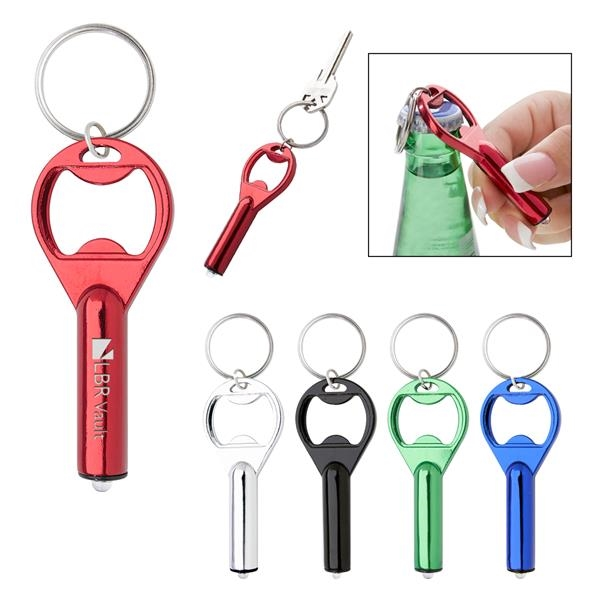 Aluminum key tag with