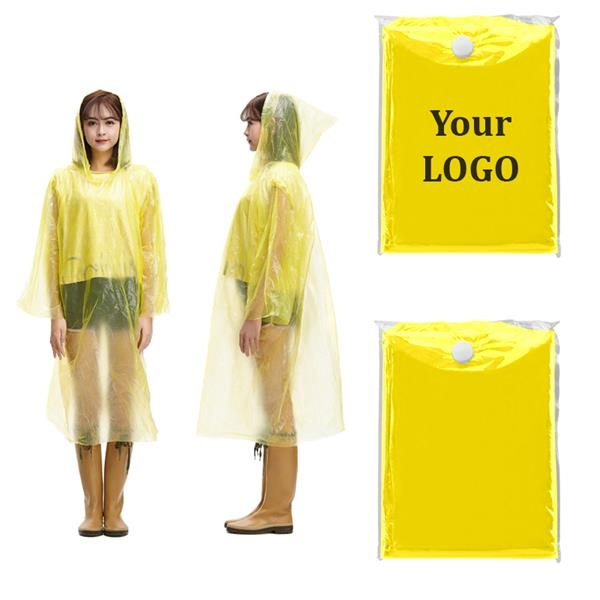 PVC Portable Poncho. It