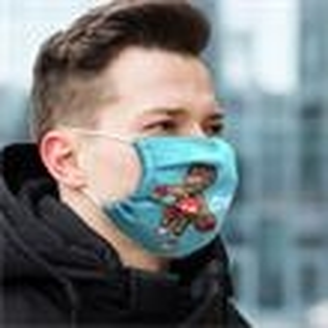 Promotional Full Color Custom Masks-CF-SF