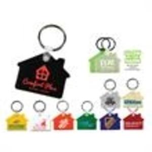 Promotional Plastic Keychains-27065
