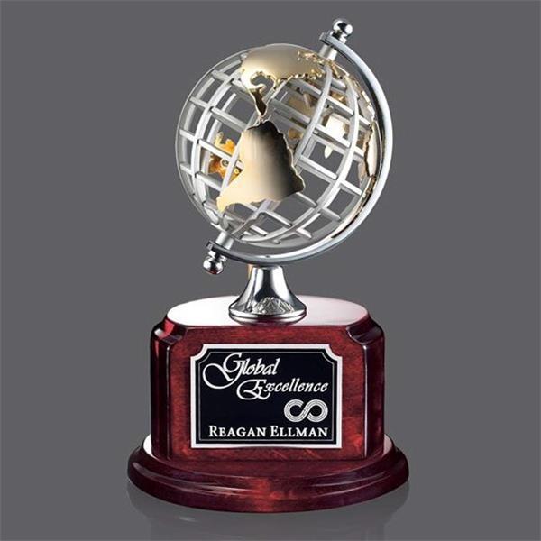 Woodstock award depicting a