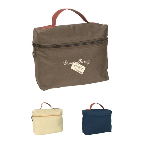 Bag with zipper and