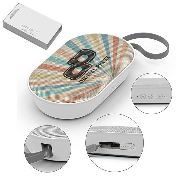 Wireless speaker and power