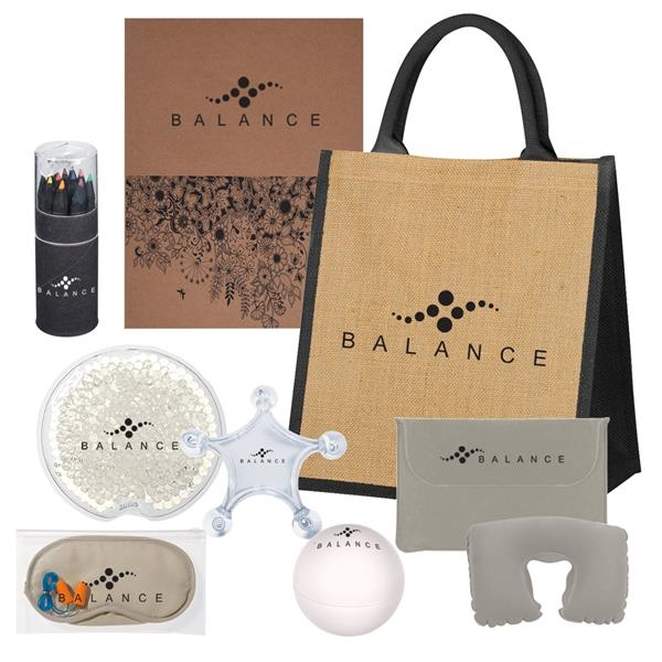 Kit containing a candle,