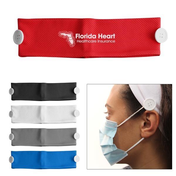 Cooling headband face mask