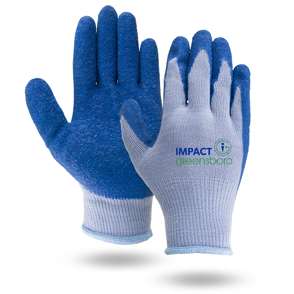 Breathable gray knit gloves,