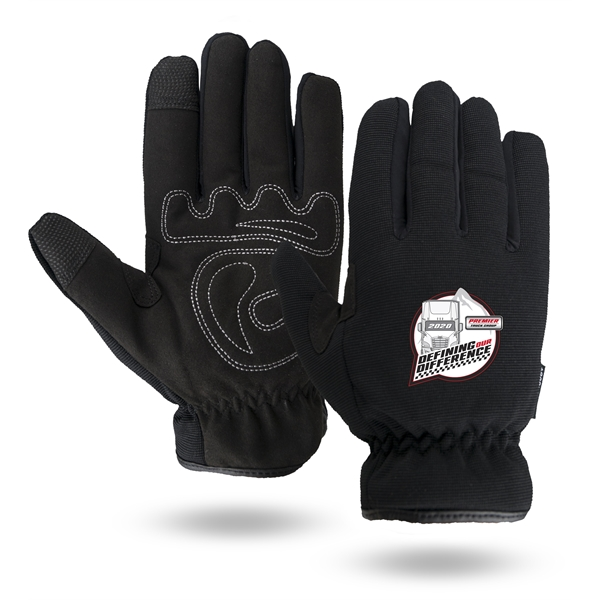 Touchscreen Winter Mechanics gloves,