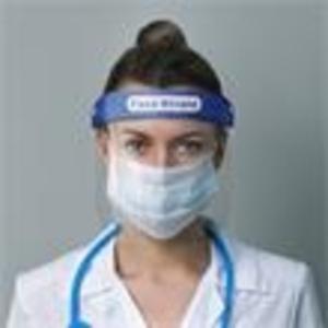 Promotional Plastic Face Shields-F-SHIELD
